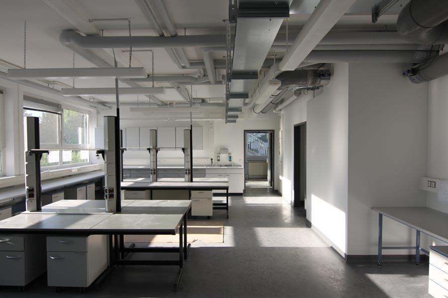 Sanierung Laborgebäude, Ahlem