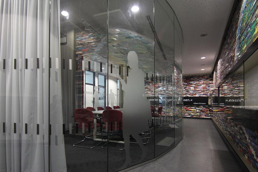 Ganzglas Besprechungsraum, ExpoPlaza
